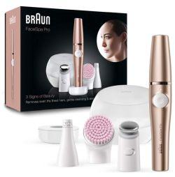 Braun FaceSpa Pro 921 Beauty Set mit Gesichtsepilierer & Gesichtsreinigungsbürste für 92,99€