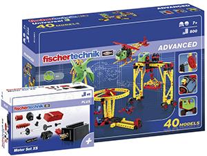 fischertechnik – 516187 ADVANCED Universal 3 + Motor Set XS Set für nur 39€ (statt 68€)
