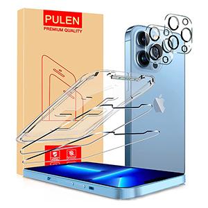 2x PULEN Panzerglas für iPhone 13 Pro Max + 2x Kameraschutzfolie für 4,89€ inkl. Prime-Versand