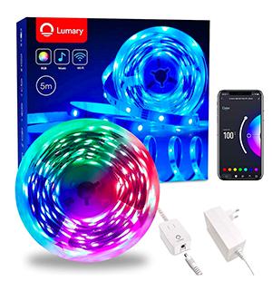 5m Lumary RGB Smart WiFi LED Strip (Alexa-kompatibel) für nur 17,99€