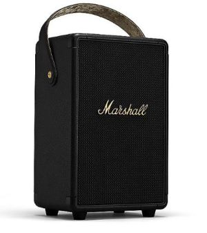 Marshall Tufton tragbarer Bluetooth Lautsprecher (black & brass) für nur 324€ inkl. Versand