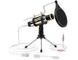 ZealSound K08-U USB Kondensator Mikrofon für 17,99€