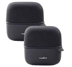 2er Pack Nedis 15 W True Wireless Bluetooth-Lautsprecher für 13,50€