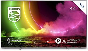 Philips 48OLED806 48 Zoll 4K Smart TV für nur 1.087,80€ (statt 1.239€)