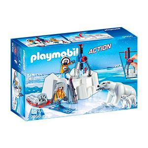 PLAYMOBIL 9056 Polar Ranger mit Eisbären für nur 16,98€ inkl. Versand