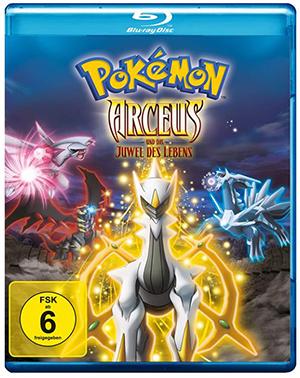 Pokémon – Arceus und das Juwel des Lebens [Blu-ray] für nur 9,97€ (statt 18€)