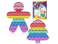 Soatasoa Regenbogen Pop Fidget Set für 4,99€