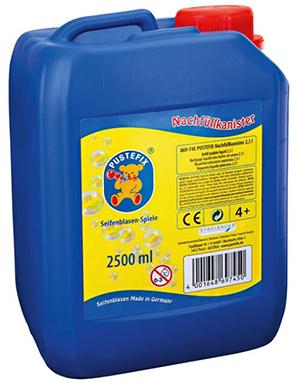 PUSTEFIX Seifenblasen Nachfüllkanister (2,5 Liter) für nur 9,30€ inkl. Versand (statt 13€)