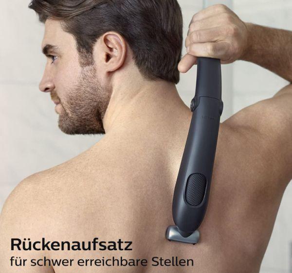 Tschüss Rückenhaare! Philips Bodygroom BG5020/15 Series 5000 mit Aufsatz zur Rückenhaarentfernung für 33,59€
