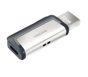 SanDisk Ultra Dual Drive USB-Stick (Typ-C/ Typ-A 3.0, 128GB) für nur 15,95€ inkl. Versand