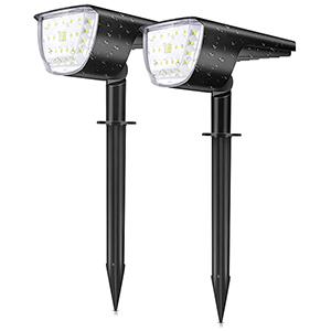 2x CosmAce Solarlampen für außen nur 12,49€ inkl. Prime-Versand
