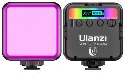 ULANZI VL49 Video Licht mit 2000 mAh Akku für 12,99€