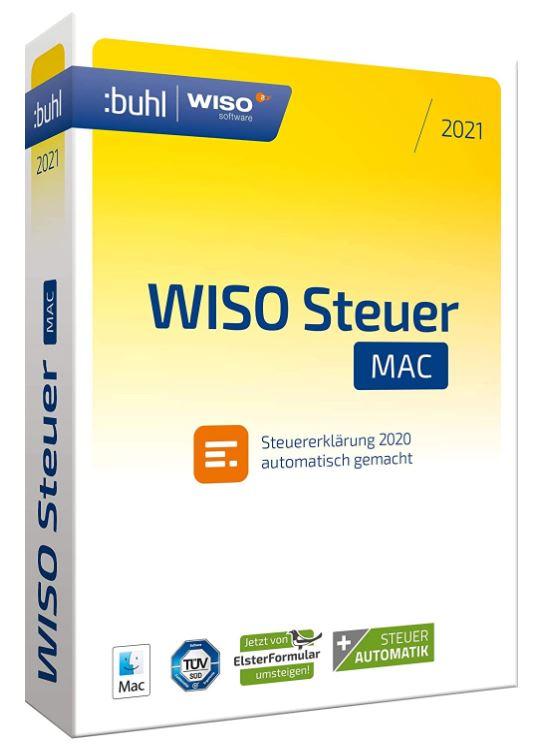 WISO Steuer-Sparbuch 2021 macOS (Digital Version)