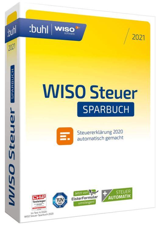 WISO Steuer-Sparbuch 2021 Windows (Digital Version)