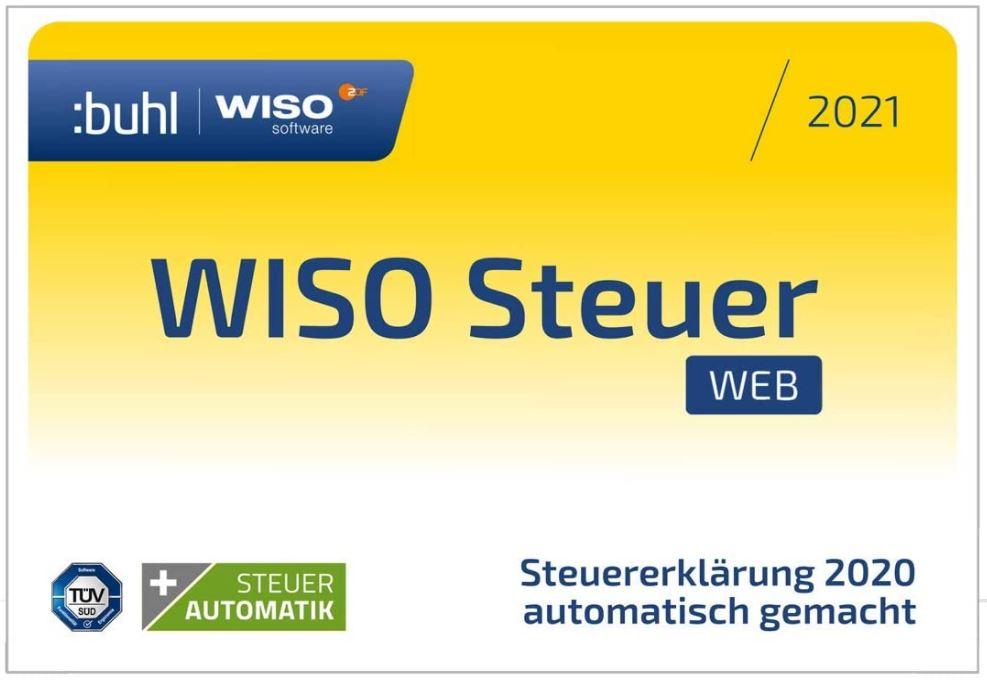 WISO Steuer-Sparbuch 2021 PC (Web Version)