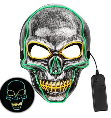 Yumcute Halloween LED Maske für 8,44€
