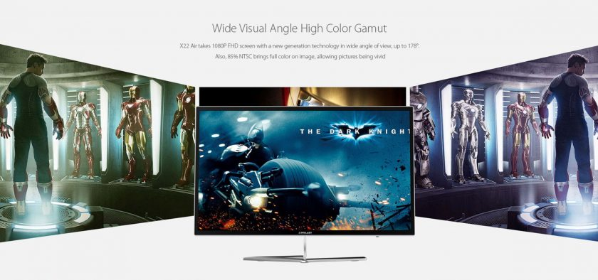 Das hochauflösende Full-HD LED Display sorgt bei Filmen oder Spielen für tolle Bilder.